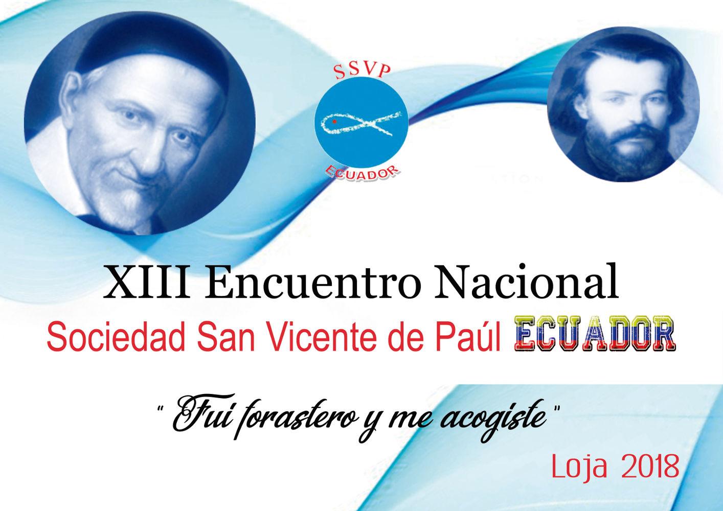 XIII Encuentro Nacional SSVP 2018